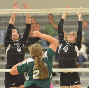 CHS Volleyball v. Cumberland 27