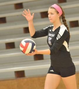 CHS Volleyball v. Cumberland 19