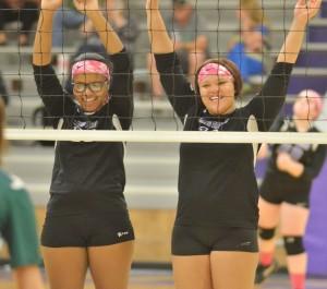 CHS Volleyball v. Cumberland 17