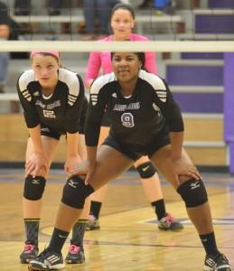 CHS Volleyball v. Cumberland 25