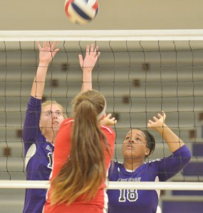 CHS Volleyball v. Mercer 3