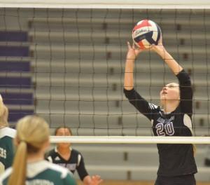 CHS Volleyball v. Cumberland 3
