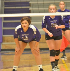 CHS Volleyball v. Mercer 2