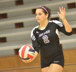 CHS Volleyball v. Cumberland 24