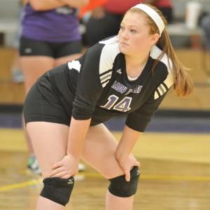 CHS Volleyball v. Cumberland 4