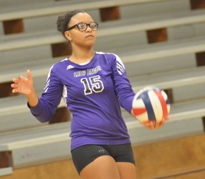 CHS Volleyball v. Mercer 13