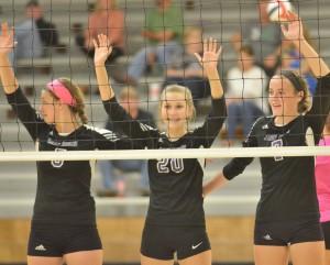 CHS Volleyball v. Cumberland 28