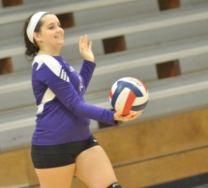 CHS Volleyball v. Mercer 12