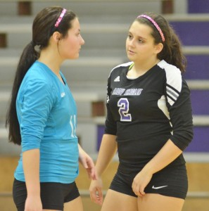 CHS Volleyball v. Cumberland 16