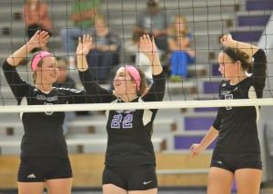 CHS Volleyball v. Cumberland 32