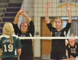 CHS Volleyball v. Cumberland 6