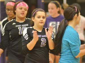 CHS Volleyball v. Cumberland 5