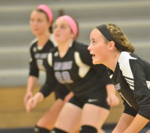 CHS Volleyball v. Cumberland 22