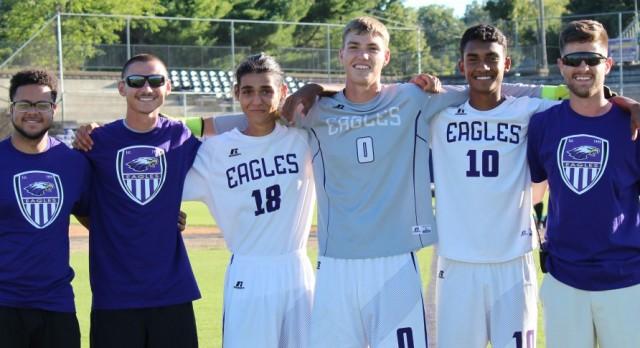 CHS senior soccer players honored