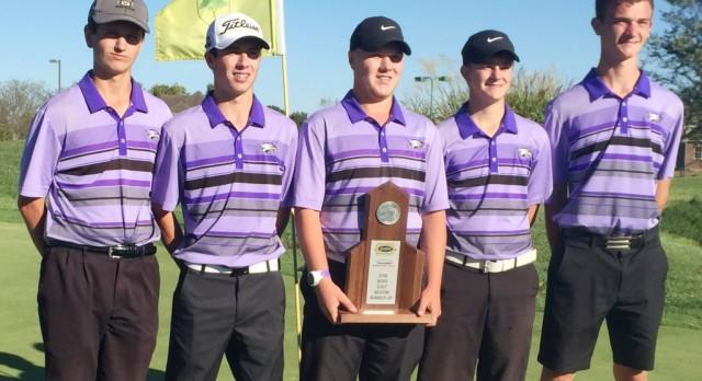CHS boys' golf team is runner-up at region tournament