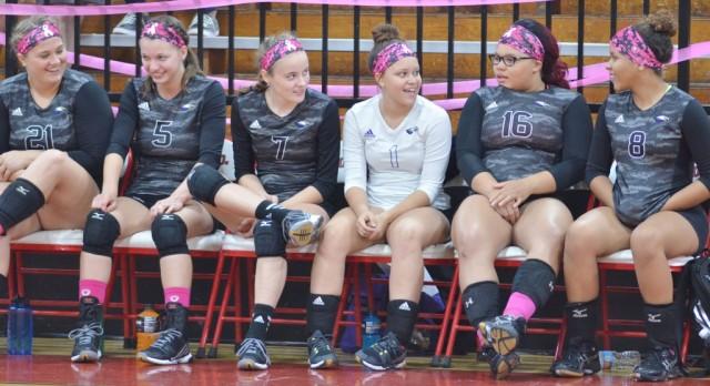 CHS volleyball team battles TC