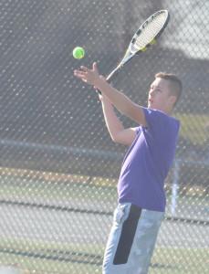 CHS Tennis vs. North Hardin 15