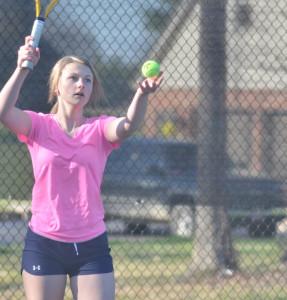 CHS Tennis vs. North Hardin 7