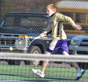 CHS Tennis vs. North Hardin 2