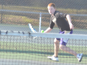 CHS Tennis vs. North Hardin 22