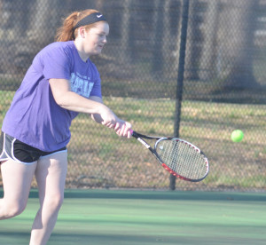 CHS Tennis vs. North Hardin 5