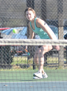 CHS Tennis vs. North Hardin 9