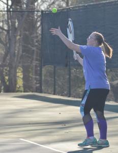 CHS Tennis vs. North Hardin 14