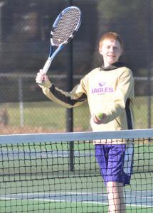 CHS Tennis vs. North Hardin 1