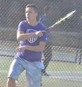 CHS Tennis vs. North Hardin 16