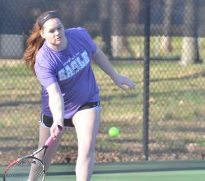 CHS Tennis vs. North Hardin 4