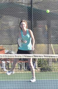 CHS Tennis vs. North Hardin 10
