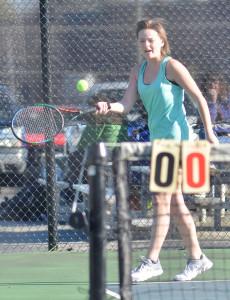 CHS Tennis vs. North Hardin 8