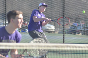 CHS Tennis vs. North Hardin 12