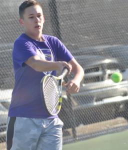 CHS Tennis vs. North Hardin 19