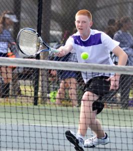 CHS Tennis vs. Grayson Taylor 16