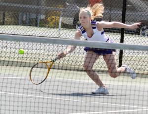 CHS Tennis vs. Grayson Taylor 2