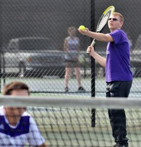 CHS Tennis vs. Grayson Taylor 21