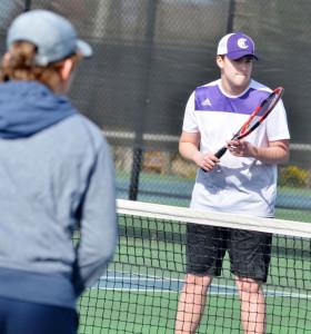 CHS Tennis vs. Grayson Taylor 13