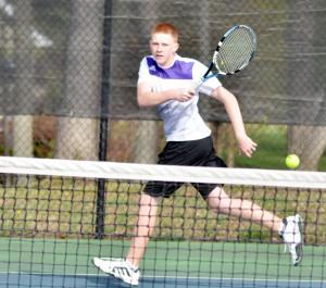 CHS Tennis vs. Grayson Taylor 23