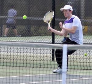 CHS Tennis vs. Grayson Taylor 18