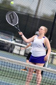 CHS Tennis vs. Adair Fort Knox 14