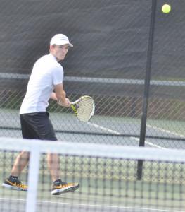 CHS Tennis vs. Adair Fort Knox 1
