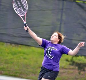 CHS Tennis vs. Adair Fort Knox 10