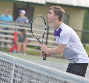 CHS Tennis vs. Adair Fort Knox 6
