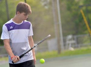 CHS Tennis vs. Adair Fort Knox 4