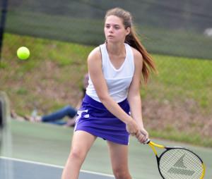 CHS Tennis vs. Adair Fort Knox 9