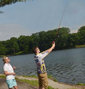 CHS Fishing Team City Lake Opening 7
