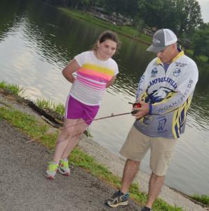 CHS Fishing Team City Lake Opening 12