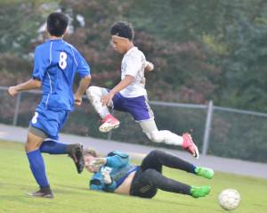 CHS Soccer vs. Clinton County 9