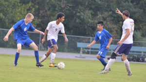 CHS Soccer vs. Clinton County 10